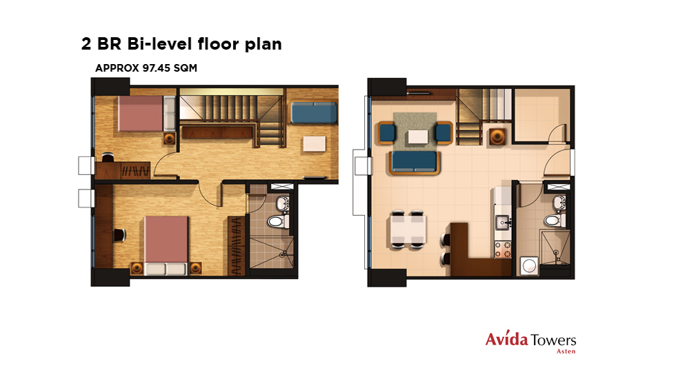 Two Bedroom Bi Level